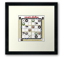 Cardoku - puzzled? Framed Print