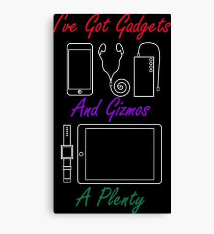 Smart Gadgets and Gizmos Canvas Print