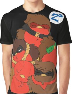 Go!Robins! - A pile of Robins Graphic T-Shirt