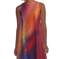 A Dance of Colors A-Line Dress A-Line Dress
