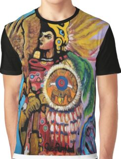 Aztec Soldier Graphic T-Shirt
