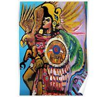 Aztec Soldier Poster