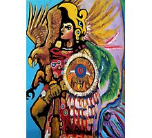 Aztec Soldier Photographic Print