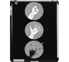 Rock, Paper, Scissor....hands iPad Case/Skin