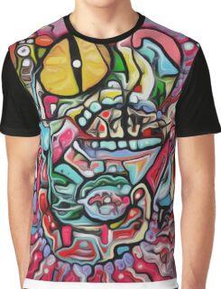 Abstract Gobbler Original art By Jose Juarez Graphic T-Shirt