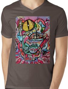 Abstract Gobbler Original art By Jose Juarez Mens V-Neck T-Shirt