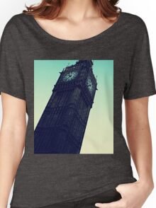 Retro Clock Tower Women's Relaxed Fit T-Shirt