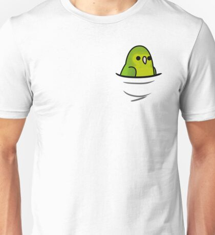 Too Many Birds! - Mexican Parrotlet Unisex T-Shirt