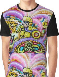 Aztec Jaguare Warrior By  Jose Juarez !!! Graphic T-Shirt