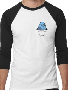 Too Many Birds! - Blue Pacific Parrotlet Men's Baseball ¾ T-Shirt