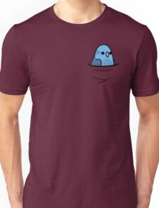 Too Many Birds! - Blue Pacific Parrotlet Unisex T-Shirt