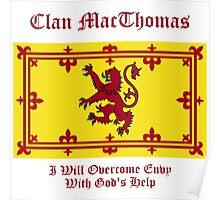 MacThomas - Scottish Clan Poster