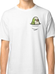 Too Many Birds! - Quaker Parrot/Monk Parakeet Classic T-Shirt