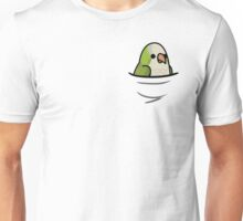 Too Many Birds! - Quaker Parrot/Monk Parakeet Unisex T-Shirt