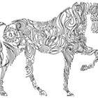 Equesterian Art by J F