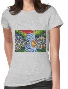 the traveler , indian art Womens Fitted T-Shirt
