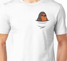 Too Many Birds! - Red-Breasted Robin Unisex T-Shirt