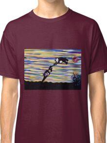 against the wind ORIGINAL ART by JOSE JUAREZ Classic T-Shirt