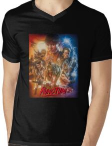 Kung Fury Fiction Film  Mens V-Neck T-Shirt