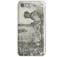 Burning Weeds The Hague, July Vincent van Gogh  iPhone Case/Skin