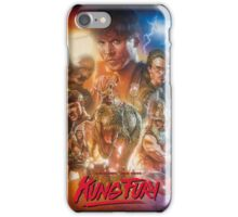 Kung Fury Fiction Film  iPhone Case/Skin