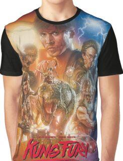 Kung Fury Fiction Film  Graphic T-Shirt