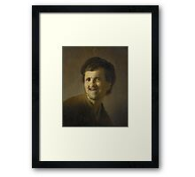 Bust of a Laughing Young Man, Rembrandt Harmensz. van Rijn,  Framed Print