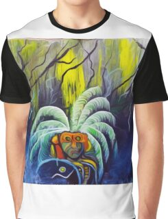 Aztec  Art The Survivor  Graphic T-Shirt