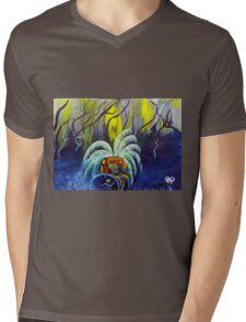 Aztec  Art The Survivor  Mens V-Neck T-Shirt