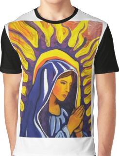 Mother Mary Graphic T-Shirt