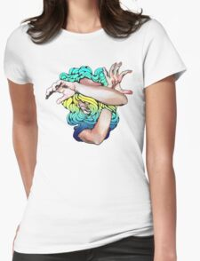 Wallflower (Social Disease Original) Womens Fitted T-Shirt
