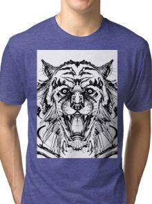 Weretiger Tri-blend T-Shirt