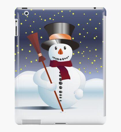 Snowman for Xmas iPad Case/Skin