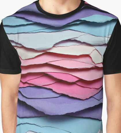 colour waves I Graphic T-Shirt