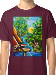 fishing kittens / cat fantasy by JOSE JUAREZ !! Classic T-Shirt