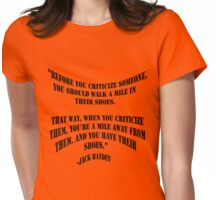 Critique B Womens Fitted T-Shirt