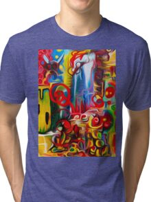 Abstract Fly World By JOSE JUAREZ !!  Tri-blend T-Shirt