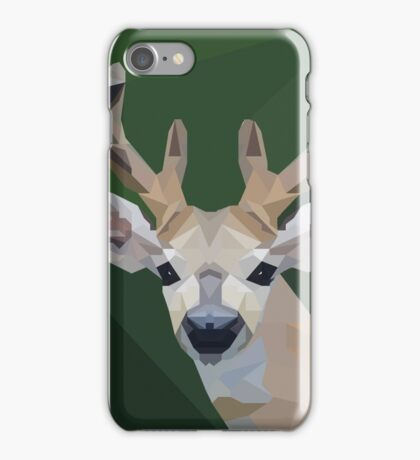 Minimalist Deer- King of the Forest iPhone Case/Skin