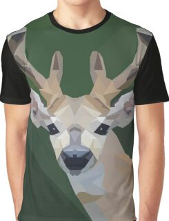 Minimalist Deer- King of the Forest Graphic T-Shirt
