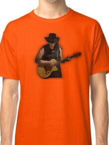 sixto rodriguez illustration searching for sugar man rock icon lyrics inspirational movie hippie t shirts  Classic T-Shirt
