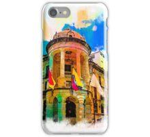 Silly Hall, Cuenca, Ecuador iPhone Case/Skin