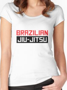 Brazilian Jiu-Jitsu (BJJ) Women's Fitted Scoop T-Shirt