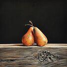 Pears by Elena Kolotusha