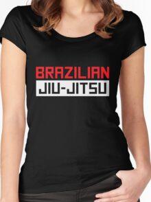 Brazilian Jiu-Jitsu (BJJ) Women's Fitted Scoop T-Shirt