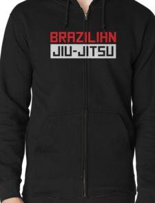 Brazilian Jiu-Jitsu (BJJ) Zipped Hoodie