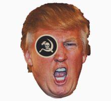 Trump One Eye on Russia Kids Tee