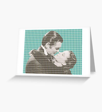 Gone With The Wind - Blue Greeting Card