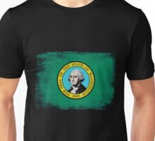 Washington State Flag Distressed Vintage Shirt Unisex T-Shirt