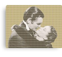 Gone With The Wind - Gold Canvas Print