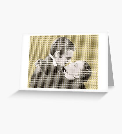 Gone With The Wind - Gold Greeting Card